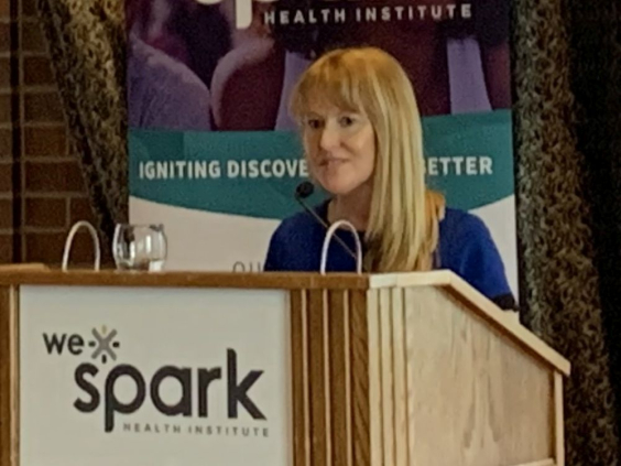 WE-SPARK Health Institute Executive Director Lisa Porter