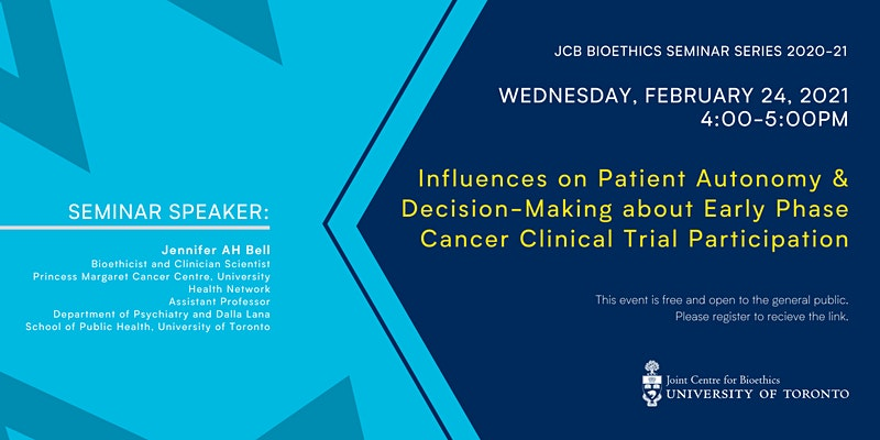 Patient Autonomy & Decision-Making: Cancer Clinical Trial Participation
