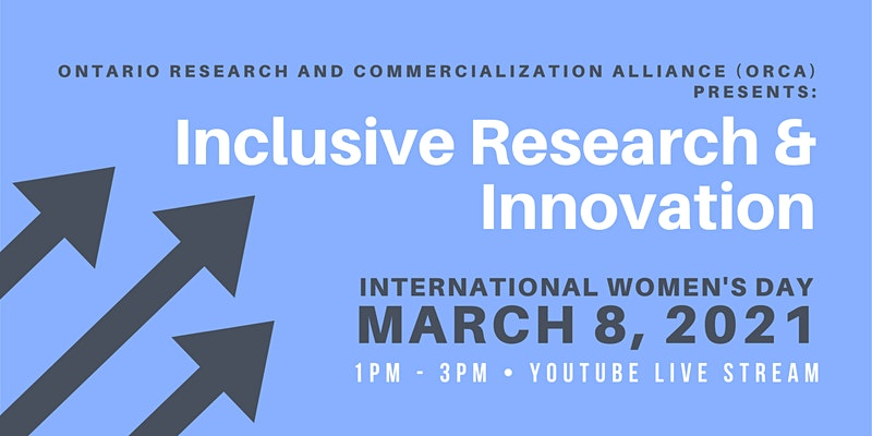 Inclusive Innovation in Research - International Women's Day