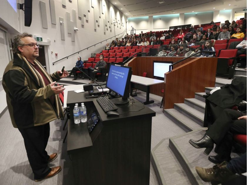 High school students attend UWindsor cancer symposium
