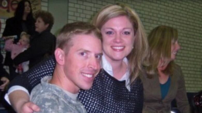 U.S. soldier's ex-wife says Trump's comments on traumatic brain injuries are harmful