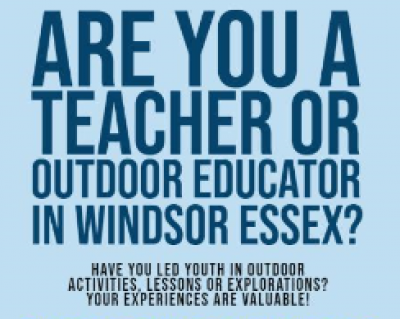 Teach a Person to Fish: An Examination of the Functionalities of Outdoor Classrooms in Windsor-Essex