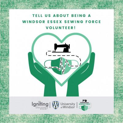 Windsor Essex Sewing Force Volunteer Survey