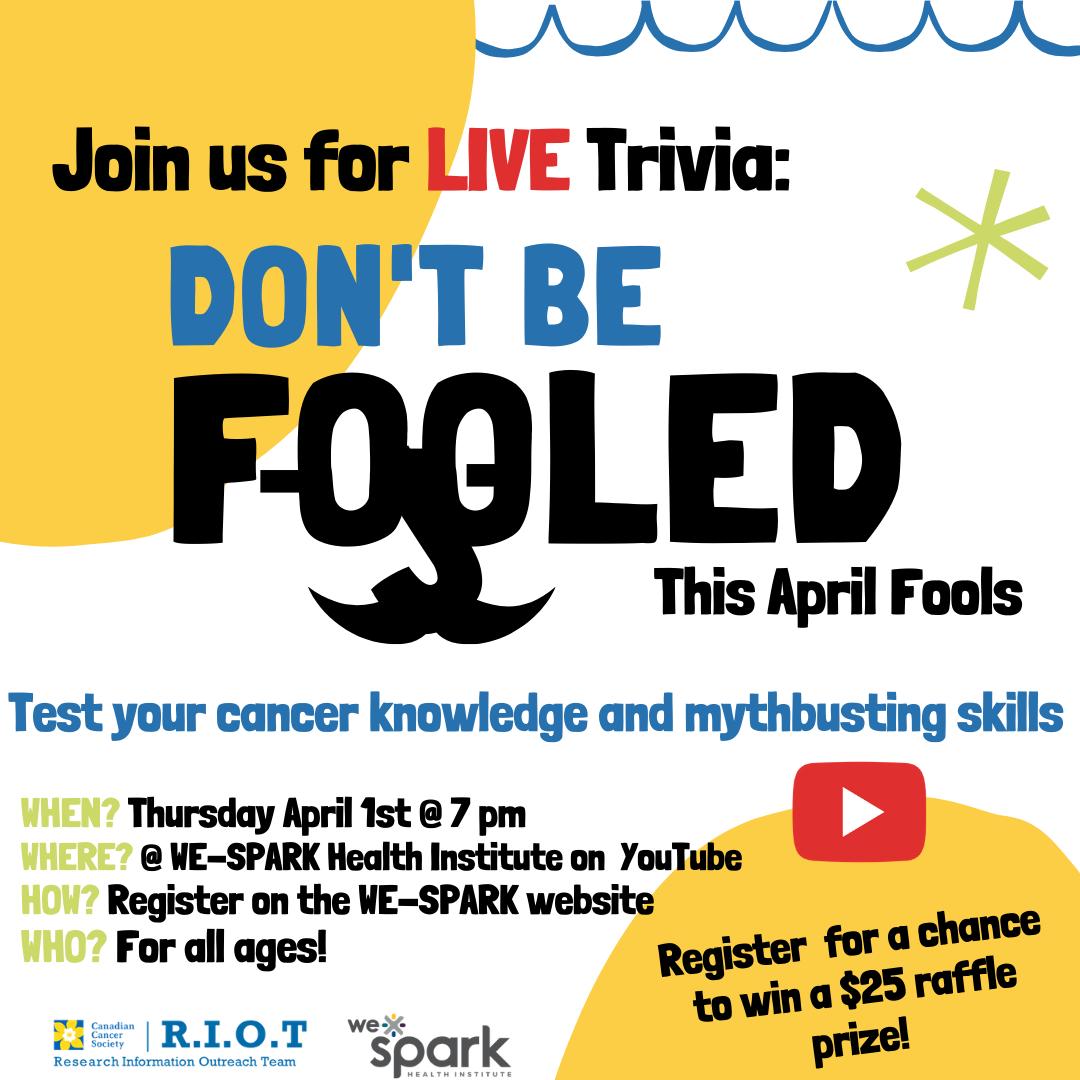 Trivia night to test myth-busting skills