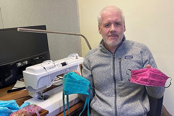 Sewing volunteers hit milestone
