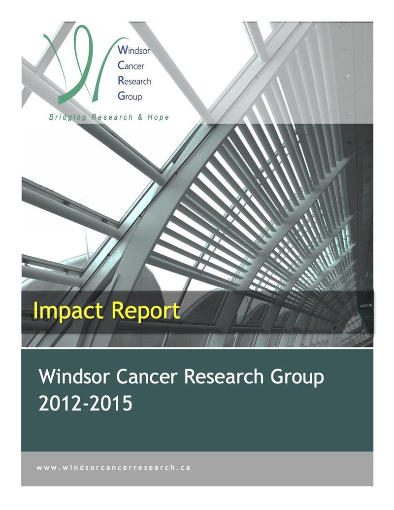 WCRG Impact Report 2012-2015
