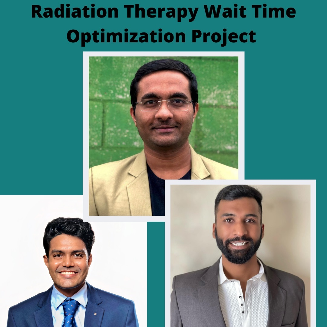 College Students Examine Radiation Therapy Wait Times