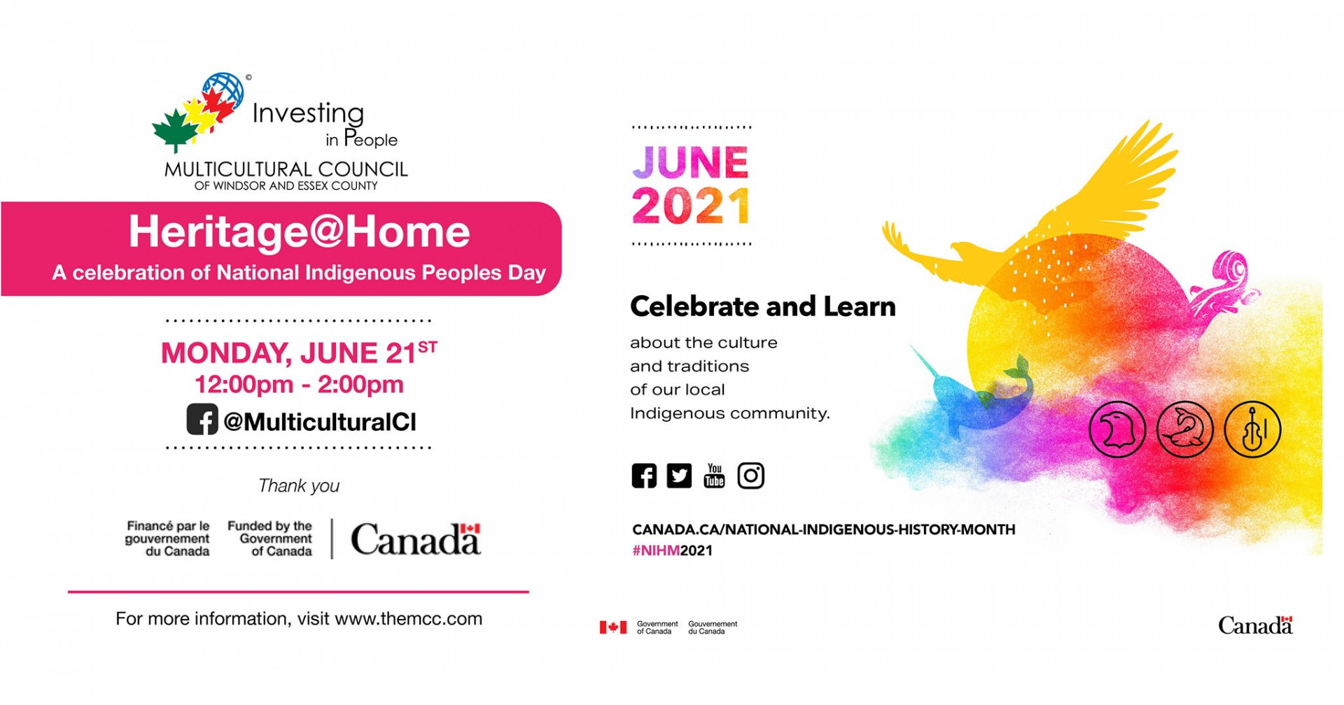 Heritage @ Home: A Celebration of National Indigenous Peoples Day