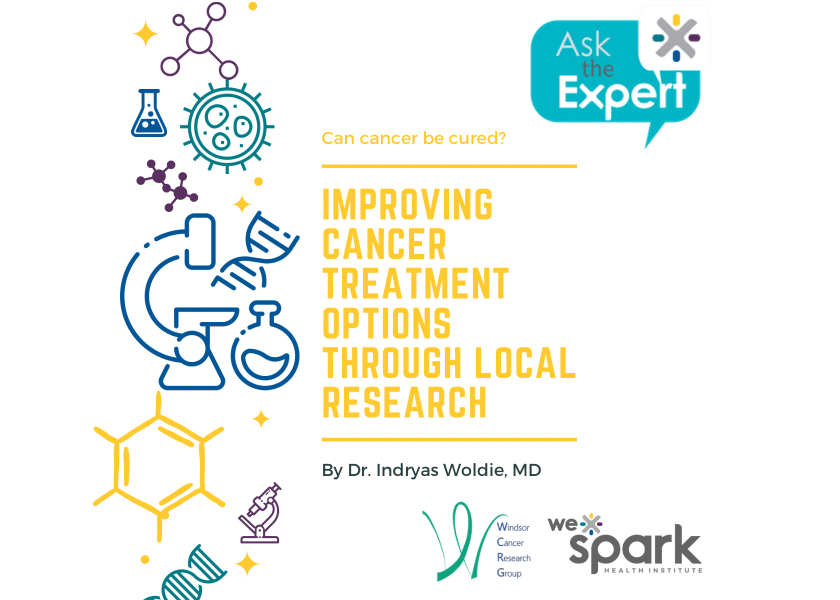 Can Cancer Be Cured? Improving Cancer Treatment Options Through Local Research - Indryas Woldie, MD