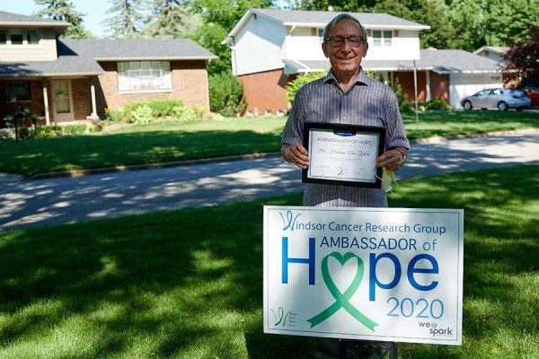 Windsor Cancer Research Group Recognizes Ambassadors of Hope