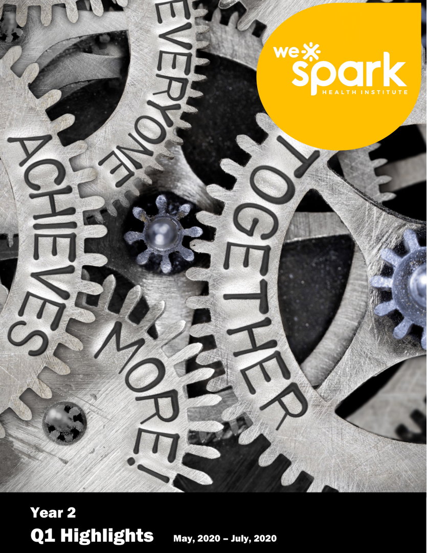 Quarterly report details WE-Spark Health Institute progress