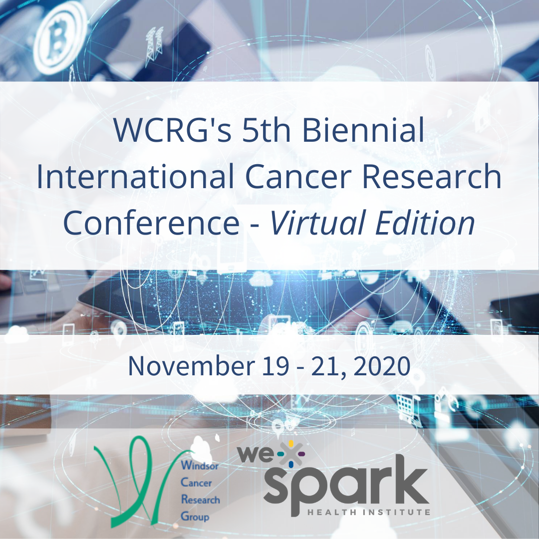 WCRG International Research Conference Nov 19-21, 2020